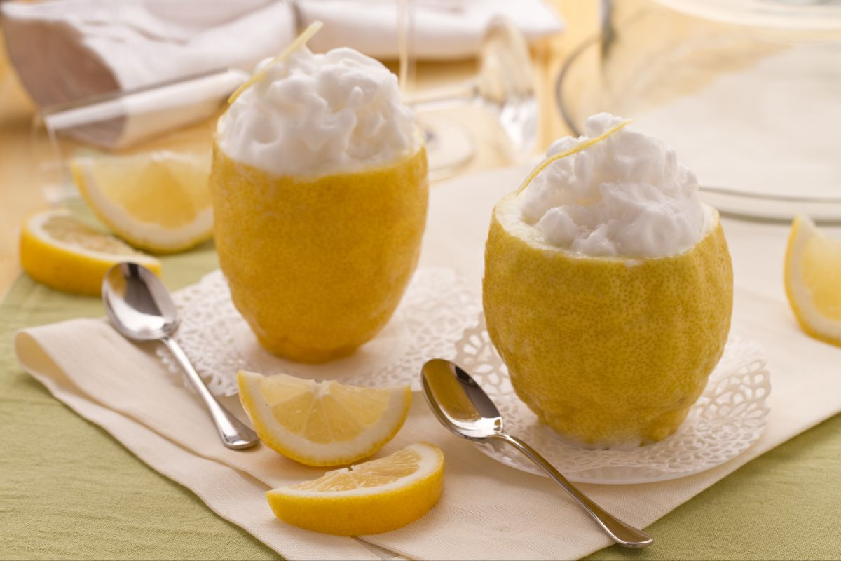 Sorbetto a limone