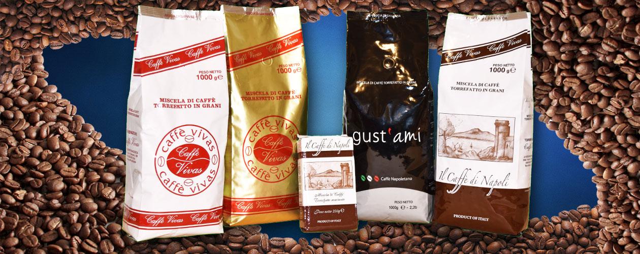 I nostri prodotti da 1 kg e da 250 g