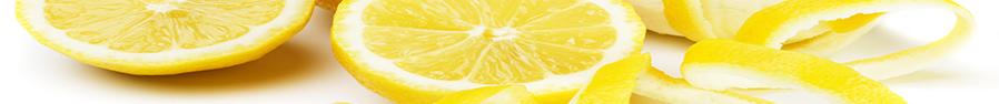 Granita al gusto di limone giallo