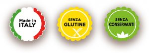made in Italy senza glutine senza conservanti